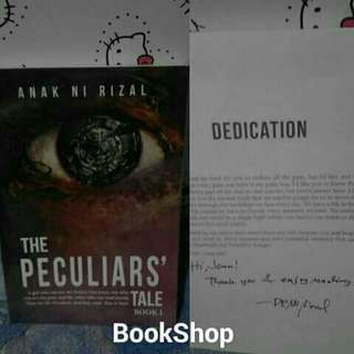 The Peculiars Tale Book 1 With Dedication & Sign