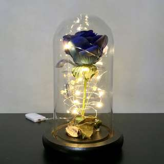 Enchanted Blue Rose (Small Jar)