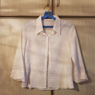 Quality Soft White Blouse