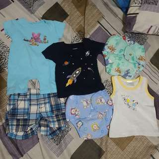 Clothes Bundle for 0-6 months baby boy