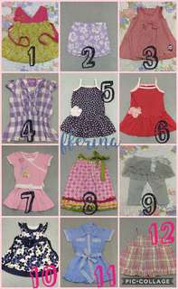 Preloved baju anak branded, murah start from 15ribu!