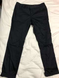 G2000 Navy Blue Ankle Skinny Work Pants
