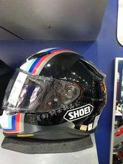 ☆宥鈞騎士部品☆SHOEI Z-7 PECOUNTER TC-10亮黑藍全罩安全帽 日本進口內襯全可拆洗 買就送手套