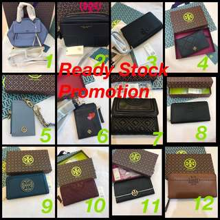 Original Tory Burch women Handbag wallet ready Stock