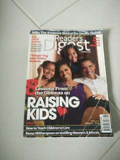 Reader digest june 2009