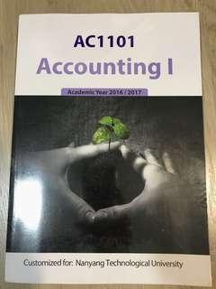 AC1101 Accounting 1