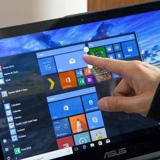 Kredit laptop Asus TP410UR proses cepat cuman 3 menit