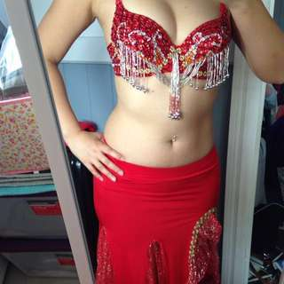 Bellydance Costume Size 6-10