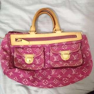 LV Pick Denim Bag