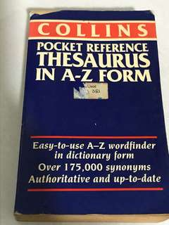 Collins pocket dictionary