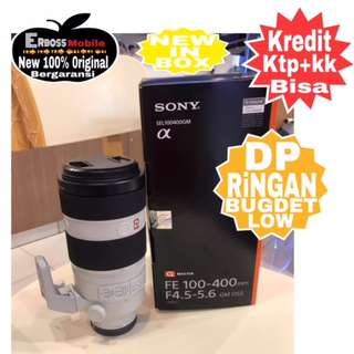 SONY FE 100-400mm F4.5-5.6 GM OSS G Master-Cash/Kredit DItoko Call/Wa:081905288895