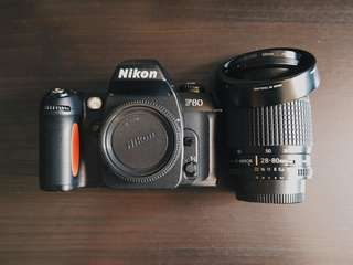 Nikon F80 Digital 135mm Film SLR Date W/ Nikon AF-D 28-80mm f/3.5-5.6 [Used]