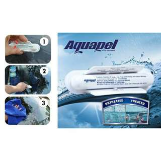 Aquapel car Glass Treatment