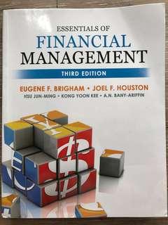 Essentials of Financial Management