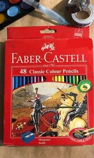faber castell 48 classic colour pencils
