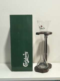 Carlsberg Tall Beer Glass Collectible