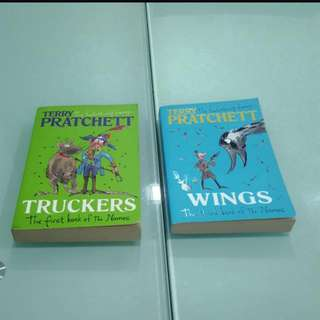 Terry Pratchett Bromeliad/Nomes Trilogy - Truckers & Wings