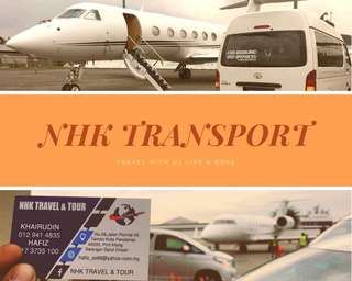 van rental / airport taxi / production van / klia van / klia taxi