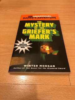 Minecraft book: The Mystery of the griefer's mark