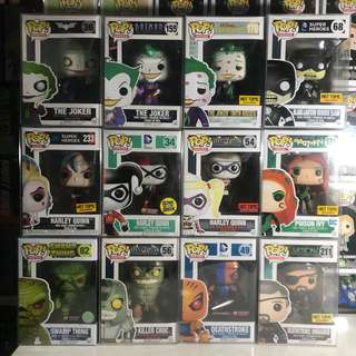 Funko Pop DC Villains