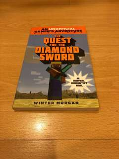 Minecraft book: The Quest for the diamond sword