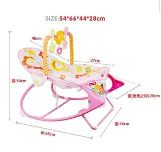 Fisher Proce Infant to Toddler Baby Rocker Char/baby chair