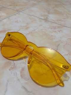 Yellow Sunglass