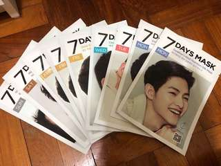 Song Joong Ki 7 Days Mask