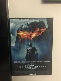 Frame Poster - The Dark Knight