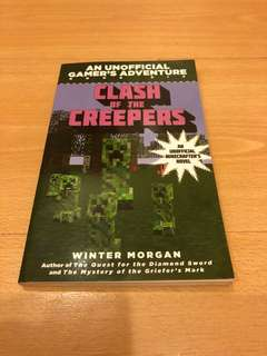 Minecraft book: Clash of the Creepers