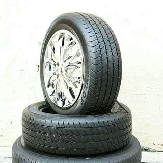 Used 185/60 R15 Dunlop (2pcs) 🙋♂️