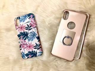 Bundle of 2 iphone X cases
