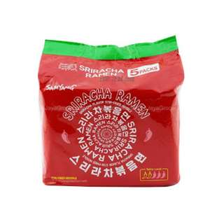 NEW: Samyang Sriracha Ramen (Pack of 5)