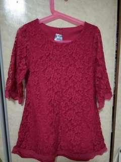BAJU KURUNG LACE & LACE DRESS