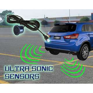 4parking sensors car reverse Backup Radar System LED Display