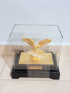 Gold plated ornament - Eagle