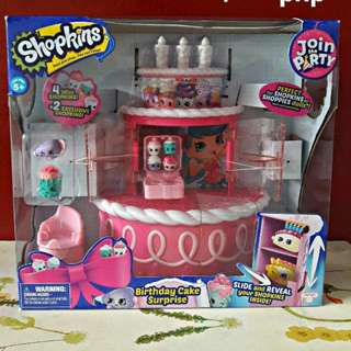 Original Shopkins Birthday Cake Surprise
