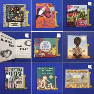 Caldecott Awardee Books