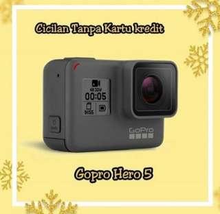 ACTION CAM Go Pro Hero 5 Bisa Kredit Tanpa DP Tanpa Kartu Kredit