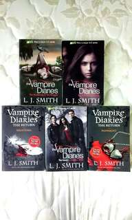 Vampire Diary Series 1-7