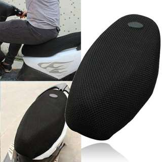 Polyester Mesh 3D Motorcycle Cool Seat Cover L