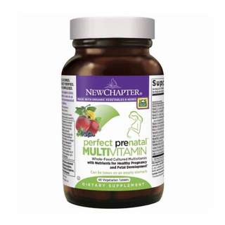 New chapter vitamins