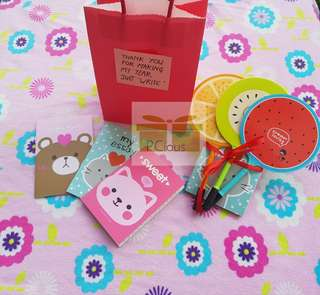 Teacher day gift set