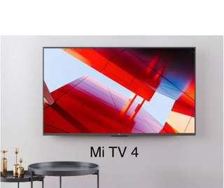 TV  Mi TV 4/4S Smart Android TV 49inches 55inches 65 inches