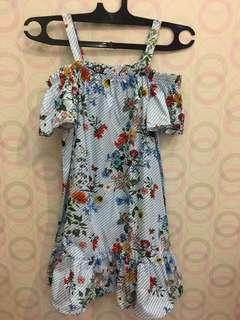 Zara kids floral dress