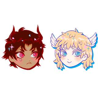 Devilman Crybaby sticker set