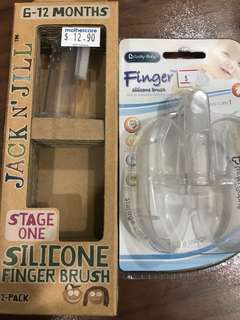 Brand NEW Silicone finger brush