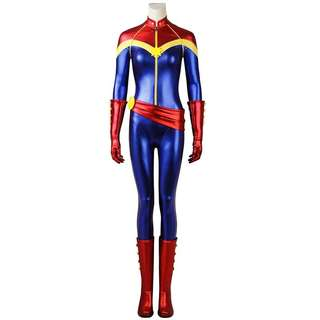 (NEW!) Captain Marvel Costume with Boots!