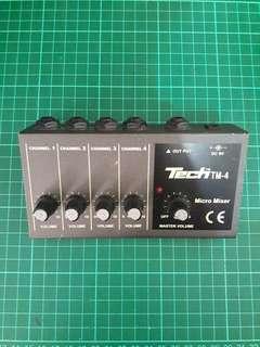 Tech TM4 Micro Mixer
