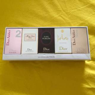 BN Christian Dior Parfums LA Collection Perfume Parfume Edt Edp Set Box Trial Sample Travel Miniature Size Gift